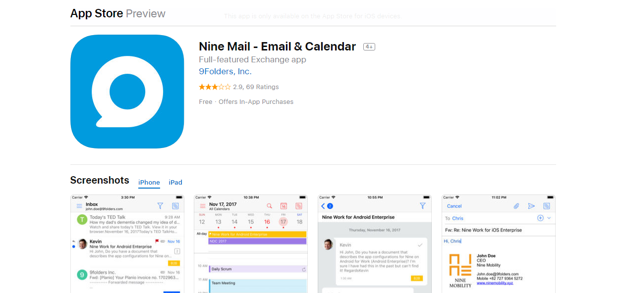 15 Best Email Apps For iPhone You Need To Check Out - Minimalist